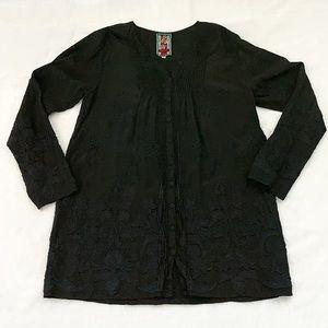 Johnny Was Black Tunic Style C16118-9